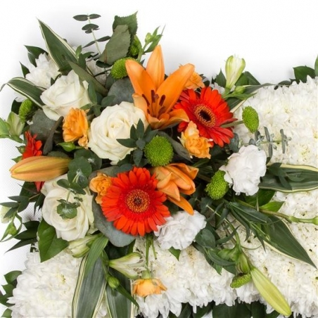 Classic Pillow - same day or named day delivery - Rushes Florist
