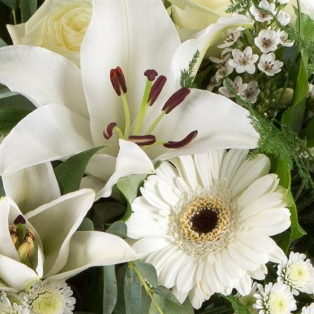 Florist Choice Wreath - same day or named day delivery - Rushes Florist
