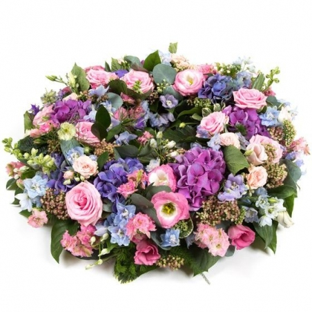 Summer Wreath - same day or named day delivery - Rushes Florist