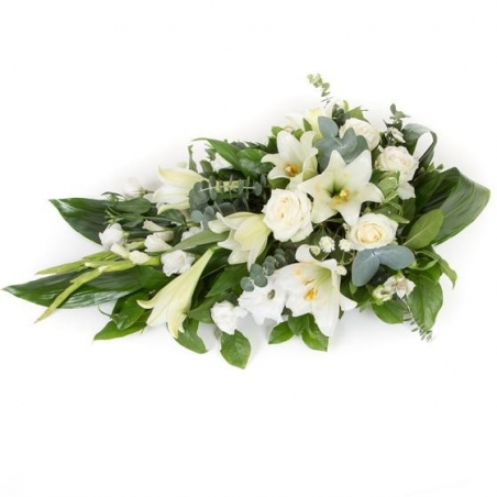 Longiflorum Spray - same day or named day delivery - Rushes Florist
