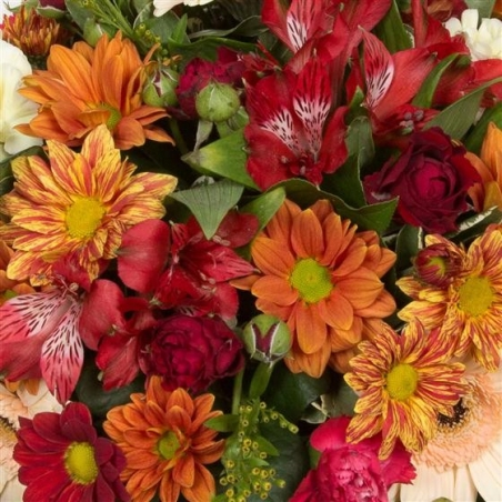 Autumnal Posy - same day or named day delivery - Rushes Florist