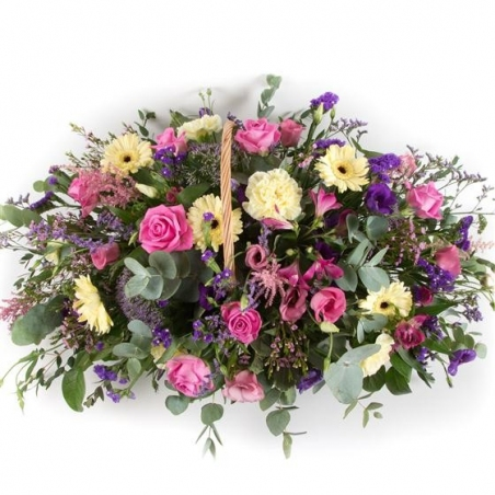 Summer Basket - same day or named day delivery - Rushes Florist