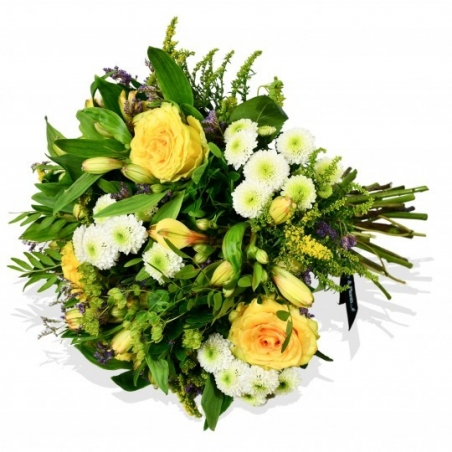 Yellow Roses - same day or named day delivery - Rushes Florist