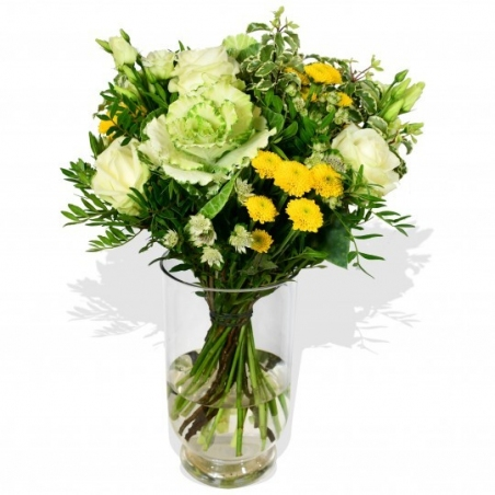 Cabbage and Rose - same day or named day delivery - Rushes Florist