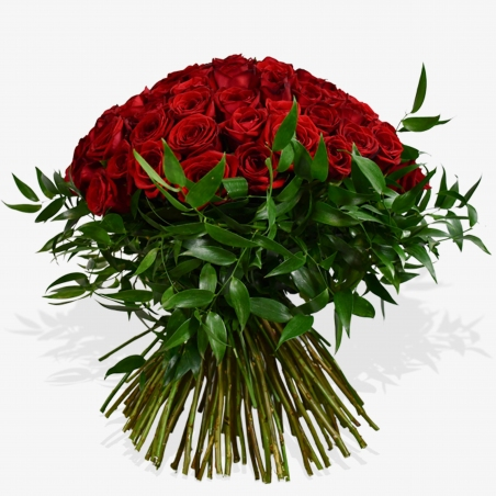 Red Rose Revelation - same day or named day delivery - Rushes Florist