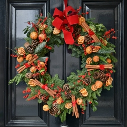 Scents of Christmas - same day or named day delivery - Rushes Florist