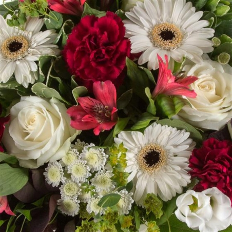 Ruby - same day or named day delivery - Rushes Florist