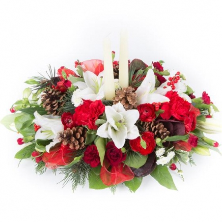 Classic Christmas - same day or named day delivery - Rushes Florist