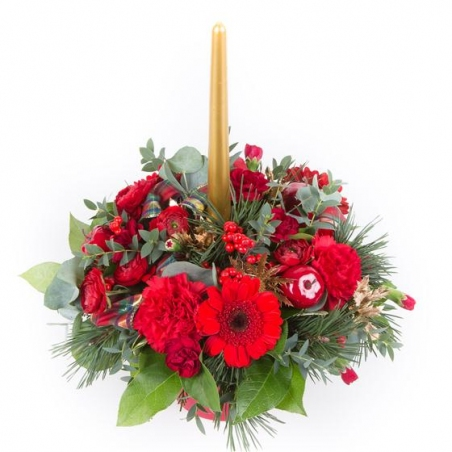 Deck the Halls - same day or named day delivery - Rushes Florist