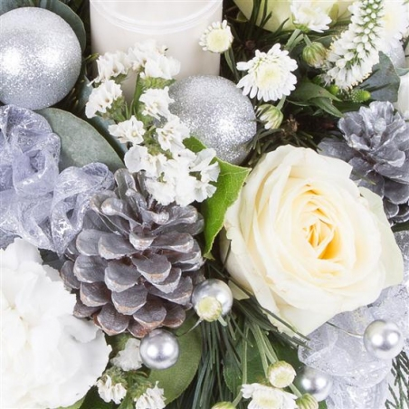 Frosty the Snowman - same day or named day delivery - Rushes Florist