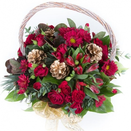 Seasonal Basket - same day or named day delivery - Rushes Florist