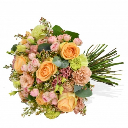 Peachy - same day or named day delivery - Rushes Florist