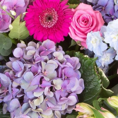 Summer Casket Spray - same day or named day delivery - Rushes Florist