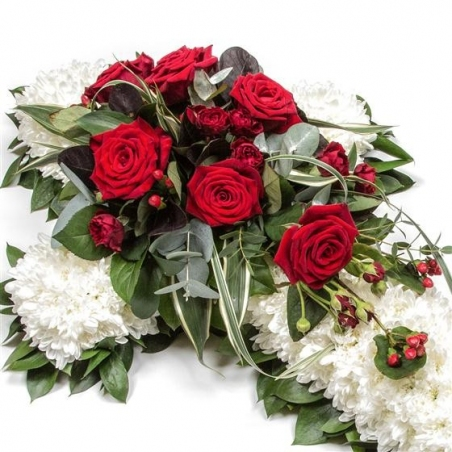 Massed Cross - same day or named day delivery - Rushes Florist